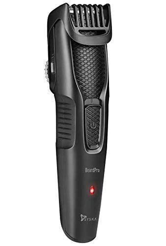 Syska HT200 Pro Beard Pro Runtime: 45 min Trimmer for Men
