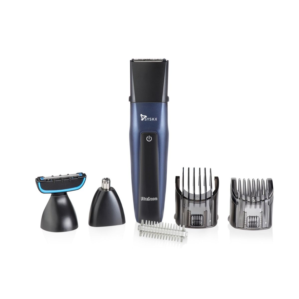 Syska HT3030K Runtime: 50 min Trimmer for Men  (Blue Black)