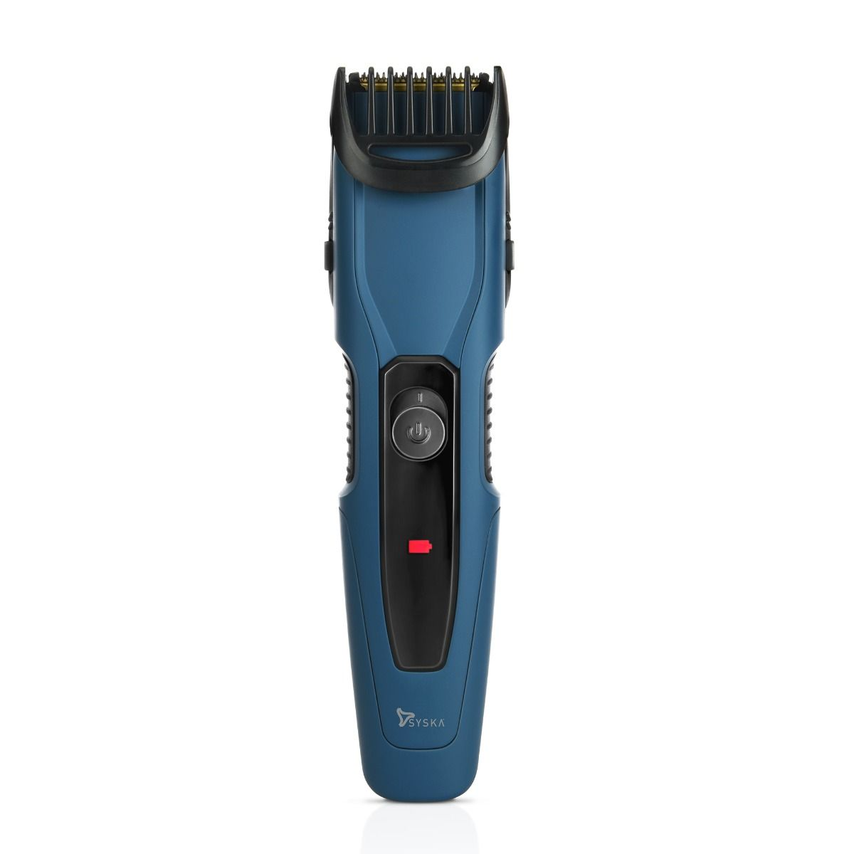Syska HT1250 Runtime: 90 min Trimmer for Men  (Blue)