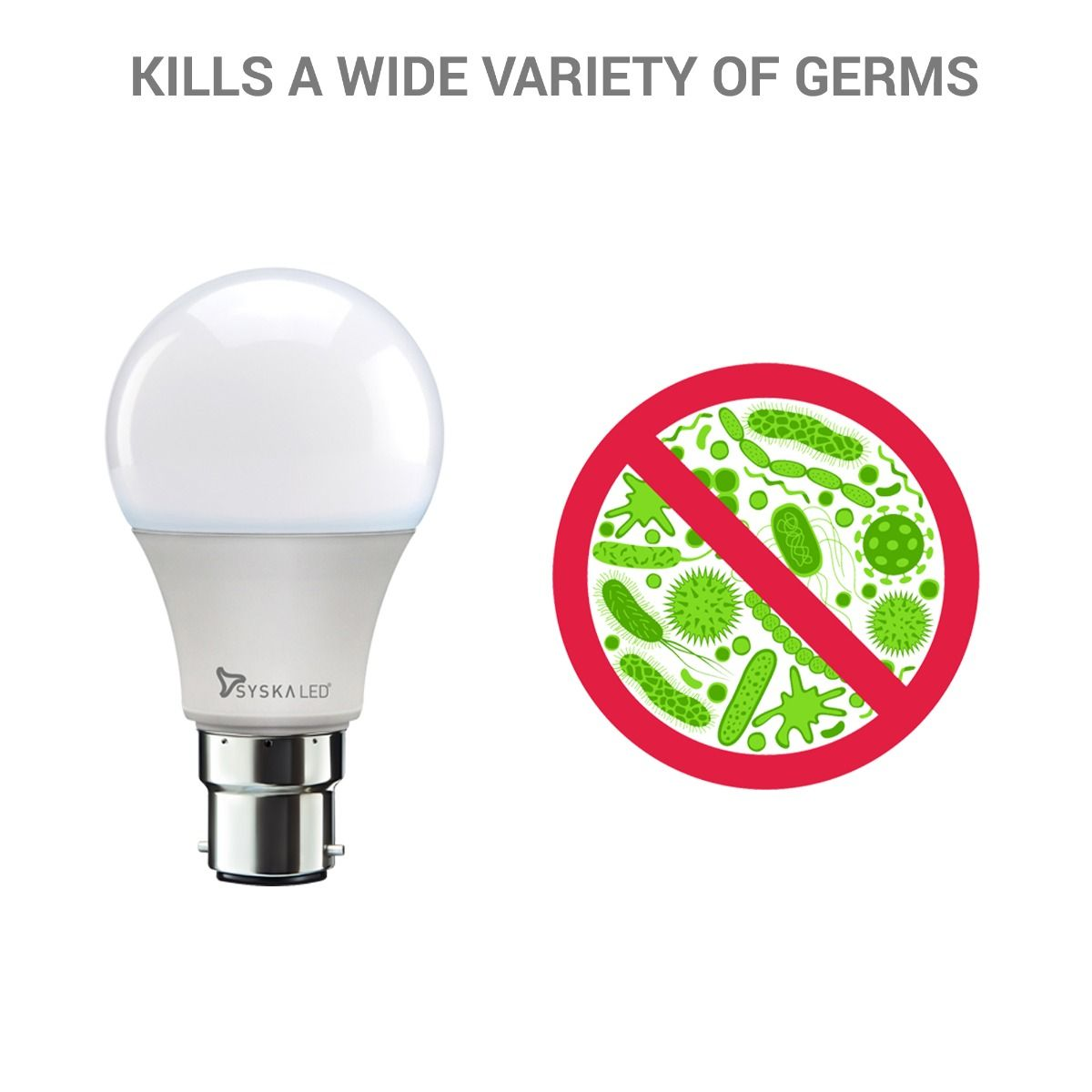Bactiglow Anti-Bacterial 9W Led Bulb