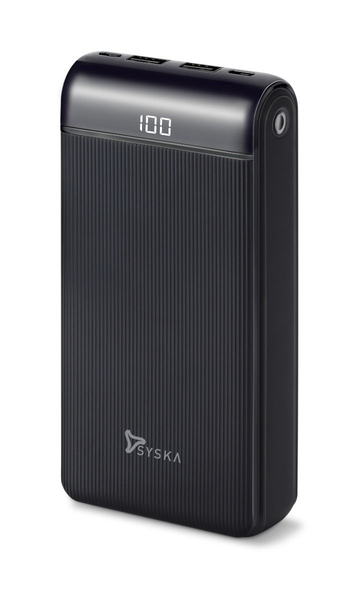 Syska P2019OX 20000mAH Lithium Polymer Power Bank