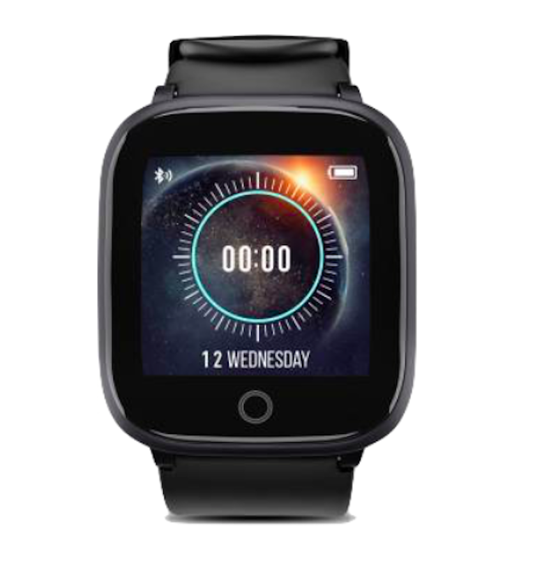 Syska SW100 IP68 Water Resistant Smartwatch