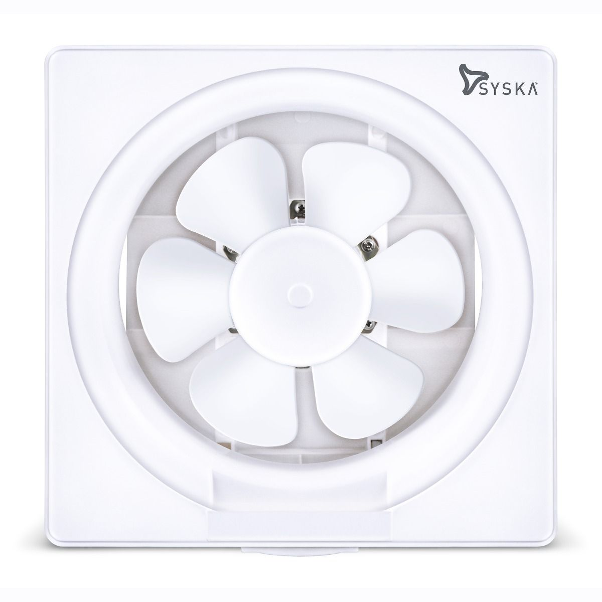 SYSKA Aerobrisk (200 mm) Blade Size Exhaust Fan for Kitchen, Bathroom, and Office with Auto Shutters.