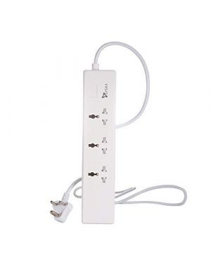 EBW0304 Smart Wifi 3 Socket Spike Buster with 4 USB Port (with Alexa & Google Assistant)